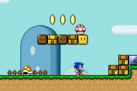 Juegos Friv: ¡Sonic en el mundo de Mario Bros! - Friv 2014