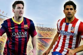 Atlético de Madrid vs Barcelona: Fecha, hora y canal de la definición de la Liga BBVA
