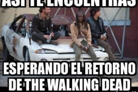 Aparecen ocurrentes memes The Walking Dead por quinta temporada [Fotos]