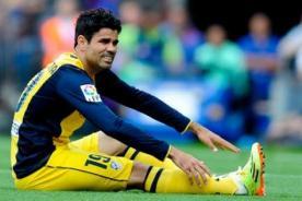 Diego Costa se lesionó y preocupa a España