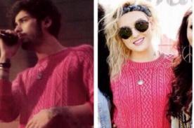 ¡Owww! ¿Zayn Malik usó el suéter de Perrie Edwards en concierto? [Foto]
