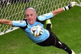 Memes del Papa Francisco y Benedicto XVI por final Alemania vs Argentina