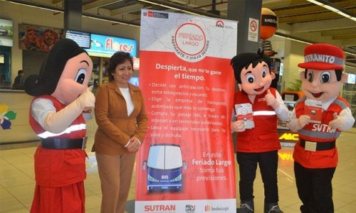 """Fiestas Patrias: MTC lanza campaña """"Prepárate y Viaja Seguro"""""""