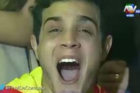 Combate: Mario Irivarren llora emocionado tras triunfo de la nación Roja [Video]