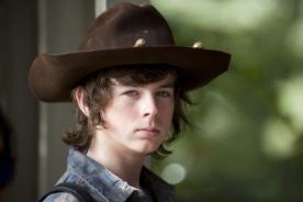 The Walking Dead: ELLA es la novia de Carl Grimes - FOTO