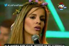 Combate: ¿Alejandra Baigorria sí está embarazada? - VIDEO