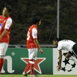 Sporting Braga vs Shakthar Donetsk : Equipo de Alberto Rodríguez perdió 3-0