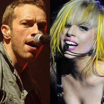 Chris Martin: Lady Gaga me puede ganar escribiendo
