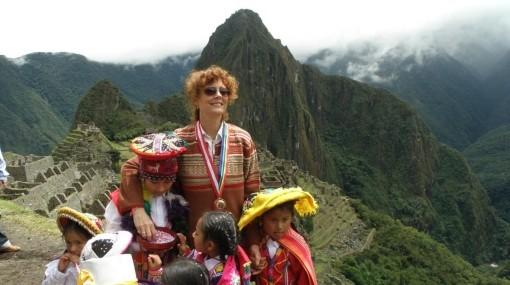 Susan Sarandon visita Puno y el Lago Titicaca
