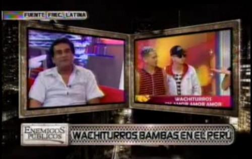 Video: Los Wachiturros en Lima son bambas según representante