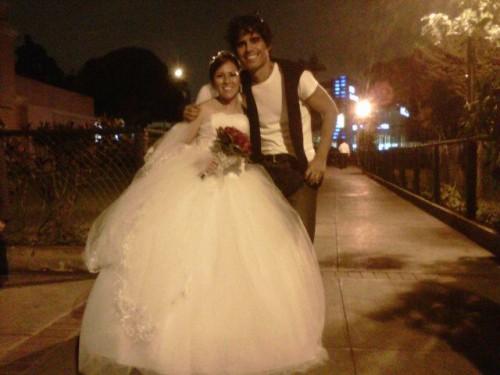 Pedro Suárez Vértiz fue testigo en matrimonio de fanática