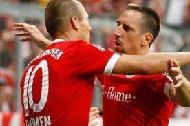 Robben y Ribery se pelearon luego del partido ante el Madrid
