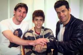 Mira el comercial donde Messi apoya la donación de médula - Video
