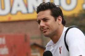 Claudio Pizarro se relaja en spa luego de quedar descartado en la selección