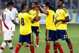 Jugadores de Colombia elogiaron el fútbol de Perú (Video)