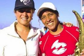 Sofía Mulanovich y Analí Gómez avanzan en el Mundial de Surf