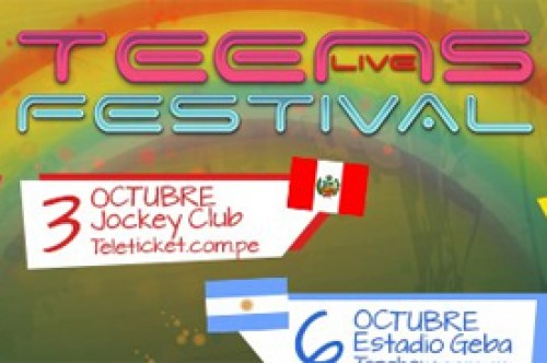Teens Live Festival en Lima: Entérate de todo a través de Facebook