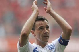 Fútbol inglés: John Terry le dijo adiós a la selección inglesa