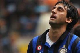 Serie A: Diego Milito falla gol para el Inter de manera increíble