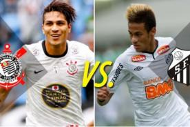 Corinthians vs Santos (1-1) en vivo - Brasileirao