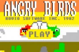 ¿Cómo se hubieran visto los 'Angry Birds' en los años 80's? - Video