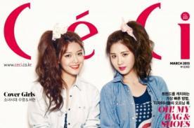 Girls Generation: Sooyoung y Seohyun posaron para la revista Céci