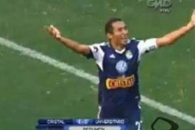 Goles del Sporting Cristal vs. Universitario (4-0) - Descentralizado del 2013