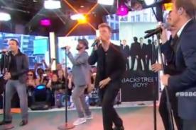 Video: The Backstreet Boys presenta su nueva canción Permanent Stain