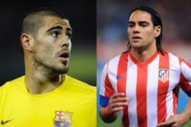 Radamel Falcao y Víctor Valdés están en Francia para firmar por Mónaco