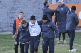 Video: Terrible falta de Agustín Orión en entrenamiento de Boca Juniors