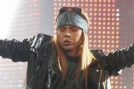 Yo soy: Axl Rose enciende el escenario con 'Patience' - VIDEO