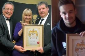 Liam Payne recibe premio como el 'Residente Más Preciado' en su ciudad