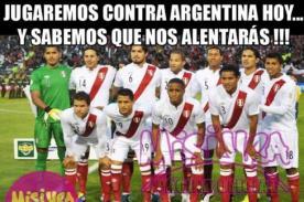 Argentina vs Perú: Difunden memes del partido por Eliminatorias Brasil 2014