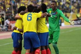 Video: Así celebró la selección ecuatoriana su clasificación al Mundial