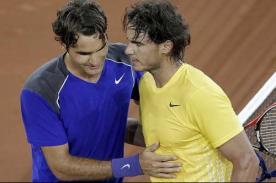 Rafael Nadal: Estoy seguro que Roger Federer no está acabado