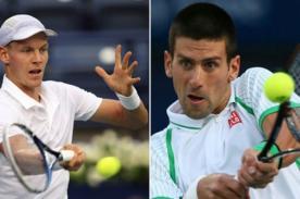 Final de Copa Davis: República Checa remonta 2-1 la serie ante Serbia