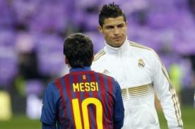 Lionel Messi reconoció el gran momento que atraviesa Cristiano Ronaldo