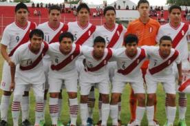 Resultado del partido: Perú vs Argentina (4-4) – Sudamericano Sub 15