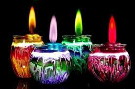 ¿Que color de velas usar para Navidad y Año Nuevo 2014?