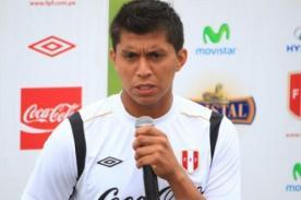 Rinaldo Cruzado: Roberto Mosquera está contento con nosotros