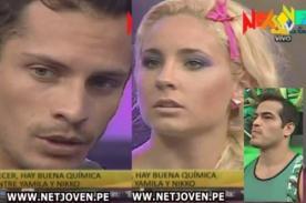 Combate: Ernesto explota de celos tras coqueteos entre Yamila y Nikko Ponce