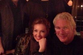 Thalía se reúne con Richard Gere y presume foto en redes sociales