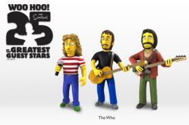 Celebridades que aparecieron en Los Simpson tendrán lína de juguetes - FOTOS