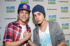 Justin Bieber y Austin Mahone sorprendieron al grabar tema musical juntos