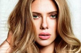 Scarlett Johansson posa sensual para la portada de la revista Glamour