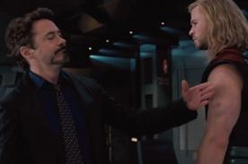 ¿Robert Downey Jr o Chris Hemsworth? ¿Quién es mejor héroe? - MTV Movie Awards