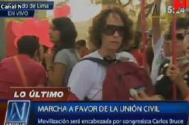 VIDEO: Gran multitud se reúne en Parque Washington por #UnionCivilYa