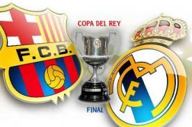 Copa del Rey: Hora, fecha y canal del encuentro entre Barcelona y Real Madrid