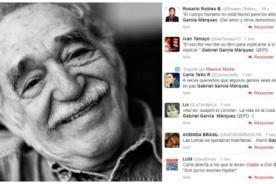 Usuarios de Twitter lamentan la muerte de Gabriel García Márquez