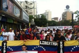 Fotos: Así realizaron Via Crucis en Venezuela por Semana Santa